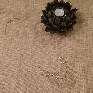 LOFT | Chain Tassel Long Necklace